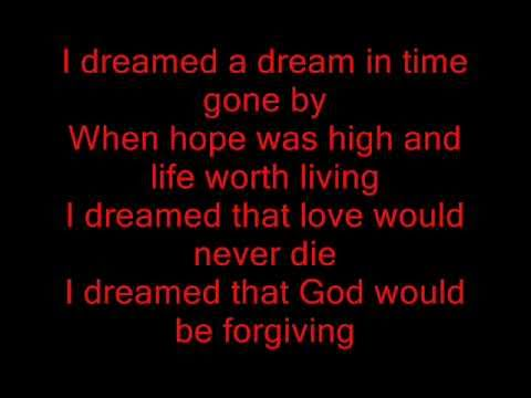 I Dreamed a Dream Karaoke (Glee version - Rachel only) Sing with me