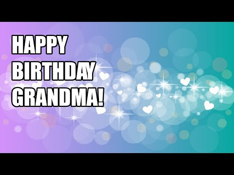 HAPPY BIRTHDAY GRANDMA Birthday Cards