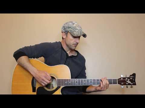 Midnight Train To Memphis - Chris Stapleton - Guitar Lesson | Tutorial
