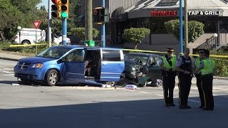 Fatal Motor Vehicle Accident 1 Dead North Rd & Lougheed Hwy. Coquitlam BC Canada