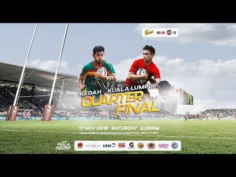 PIALA AGONG 2018 - KEDAH vs KUALA LUMPUR