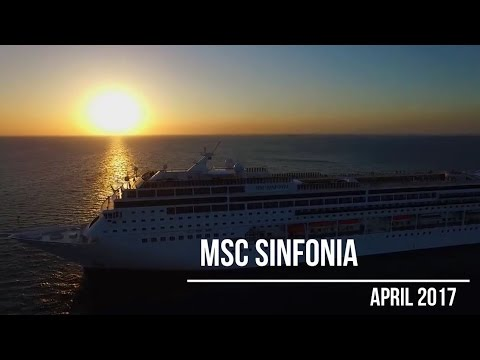MSC Sinfonia Cruise - Cape Town to Walvis Bay - April 2017