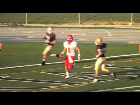 Ferris State Football at St. Francis Saints: 1st Half Touchdowns