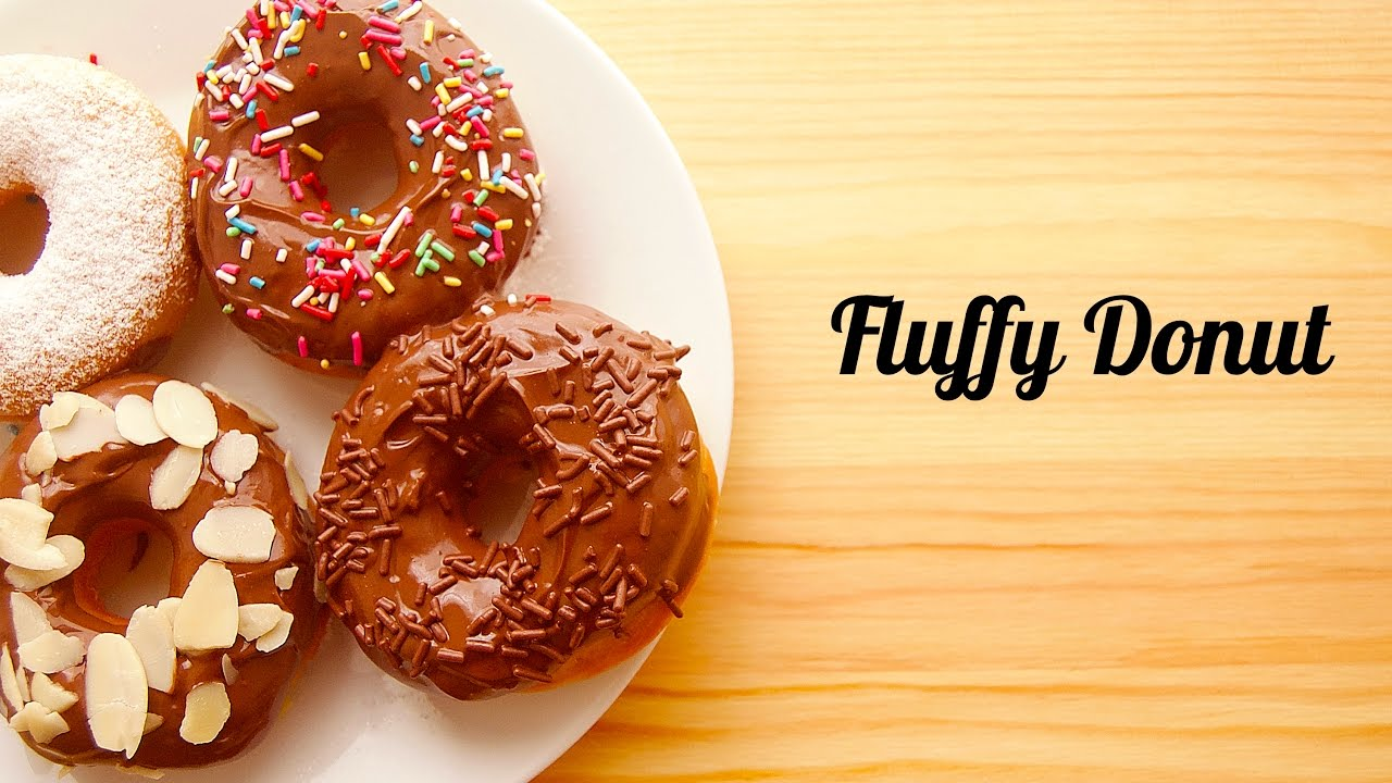 How To Make Fluffy Donut Cara Cara Membuat Donat Gebu Youtube