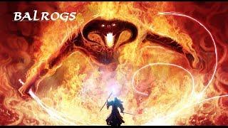 Balrogs Die Geschichte und Macht (Zusammenfassung) Deutsch HQ Der Herr der Ringe/Der Hobbit