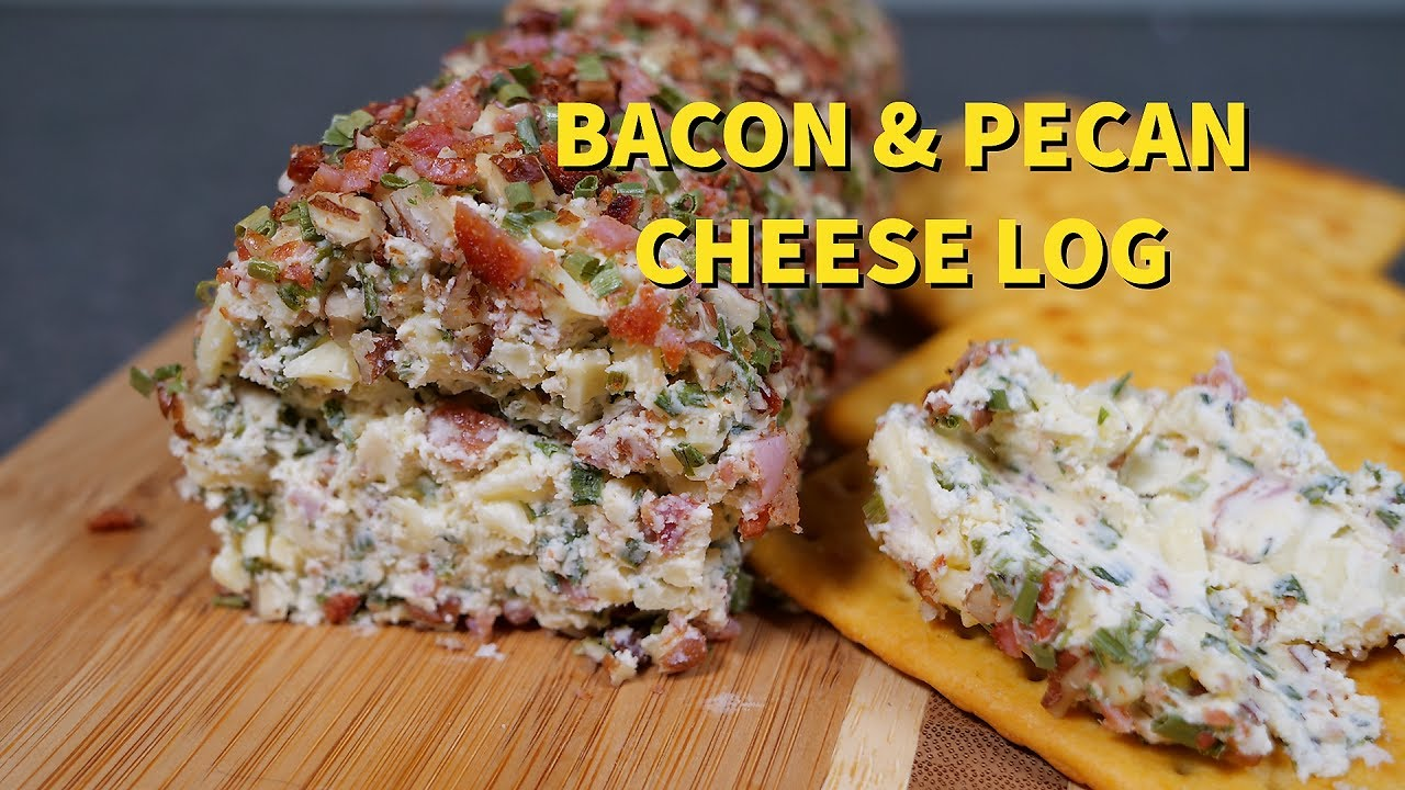 Cooking with Cream Cheese: Bacon and Pecan Cheese Log