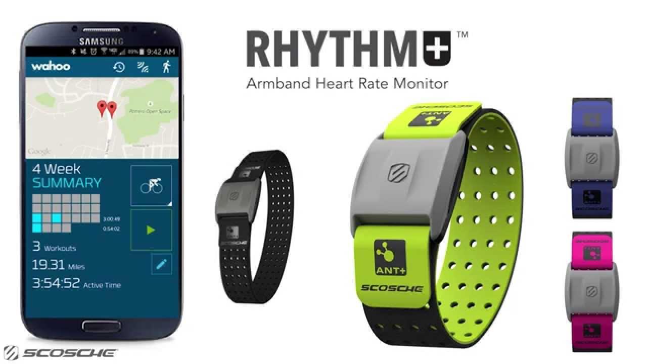 scosche rhythm app android