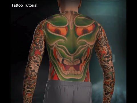 how to make a sleeve tattoo on nba 2k16