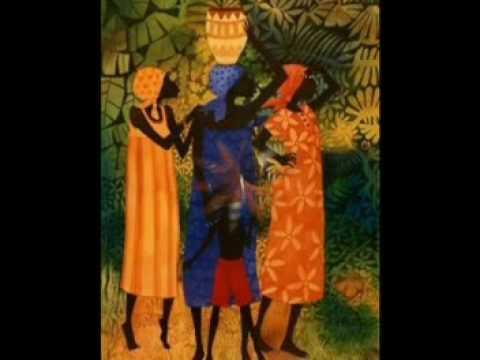 Pinturas africanas youtube - Cabeceras pintadas en la pared ...