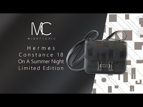 4d803256e9 Hermes Constance Bag 18 Rare On A Summer Night Limited Edition – mightychic