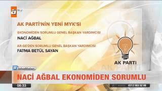 AK Parti'nin yeni MYK'sı belli oldu - atv Kahvaltı Haberleri