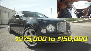 A Used Bentley Mulsanne is a Steal at $150,000 || 3 Minute Car Reviews