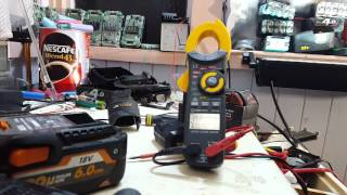 AEG 12v   2AH and 4.0 Ah liion battery deconstruction 18650 recovery