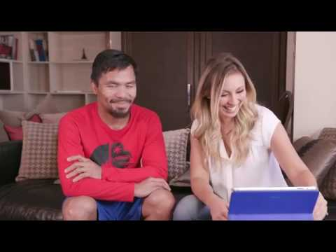 Manny Pacquiao EXCLUSIVE Interview before the fight with Jeff Horn