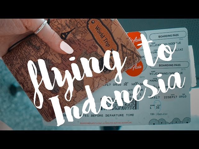 VLOG 74 - TRAVELING TO INDONESIA