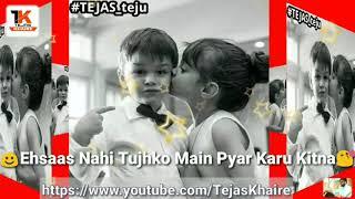 WHATSAPP Status Video | Ehsaas Nahi Tujhko Main Pyar Karu Kitna