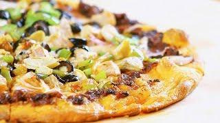Sun-Dried Tomato Mediterranean Pizza