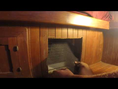 Cleaning the Marine Air Conditioner Air Filters