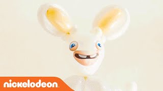 Rabbids Invasion | Learn How to Make a Rabbids Balloon! | Nick
