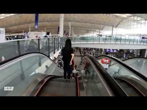 【4K Hong Kong Walk Tour】Hong Kong Airport