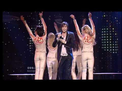 Martin Stenmarck  Las Vegas Melodifestivalen 2005 Final