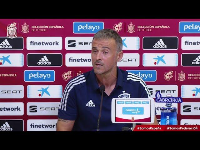 Luis Enrique renueva el seleccionado de España con citación de jóvenes
