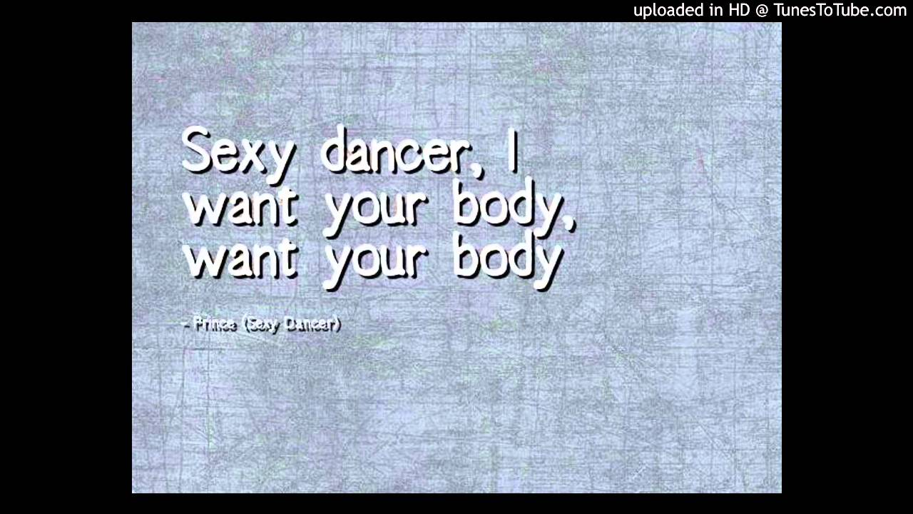 Prince sexy dancer mp3