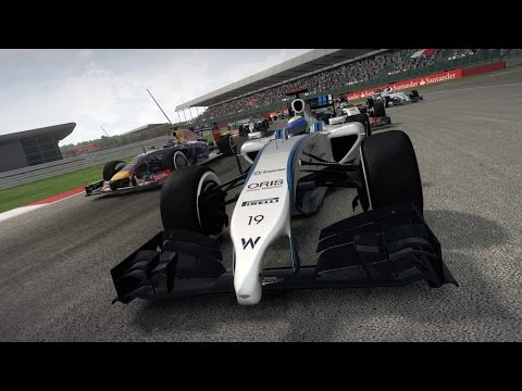 F1 2014 announcement gameplay trailer formula one