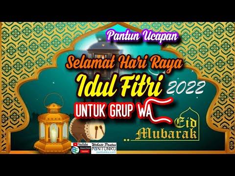Pantun Ucapan Selamat Hari Raya Idul Fitri 2021 (untuk Anggota Grup WA)