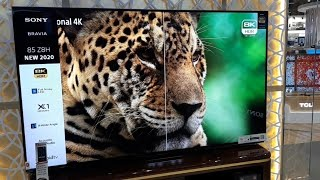 """SONY XBR Z8H Series 85"""" 8K HDR Smart Android TV (2020)"""