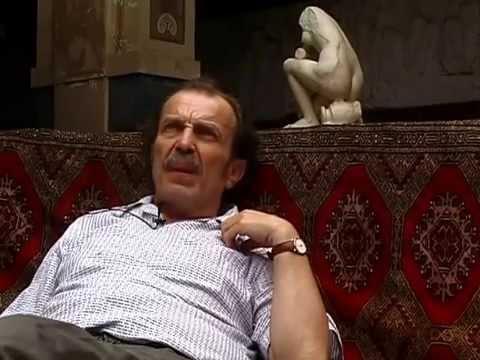 Franz West Talks With Hassan Elbaze In A Paris