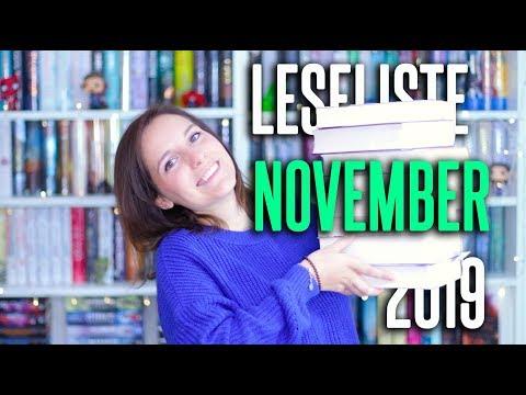 LESELISTE November 2019 | 8 Bücher im Want to read | melodyofbooks