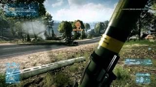 Battlefield 3 slow motion test 1080p 100 fps