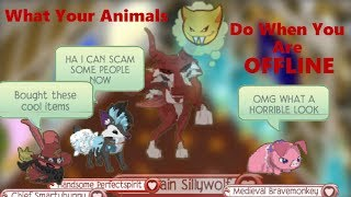 Animal Jam Skit - What Your Animals Do When You Are Offline
