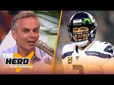 Colin reacts to Wilson being ranked 33rd on PFF All-Decade team, talks Stidham | NFL | THE HERD