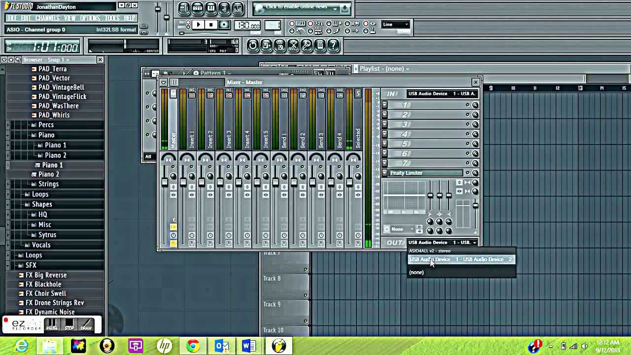 Fl studio hook up mic