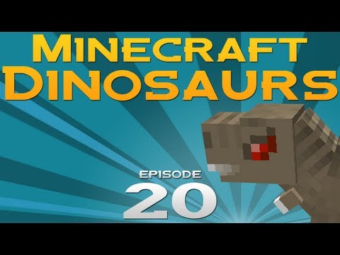 Minecraft Dinosaurs! - Episode 20 - Clever girl