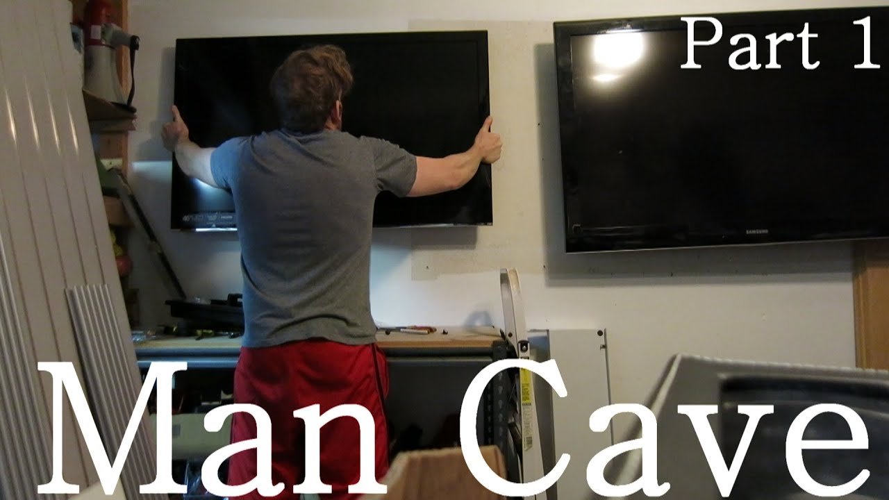 Building The Ultimate Garage Man Cave Part 1 Youtube