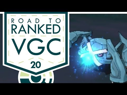 """THE METAGROSS POLICY!"" VGC 2017 Road to Ranked! Episode 20 - Pokemon Sun and Moon w/ PokeaimMD"