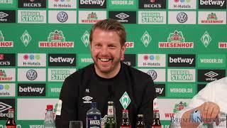 Werder Bremen Pressekonferenz [Komplett] 18. April - FC Bayern München - Werder Bremen