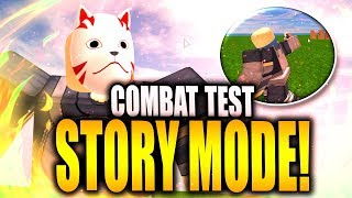 FIRST LOOK AT NRPG NEW STORY MODE COMBAT! ROBLOX | iBeMaine