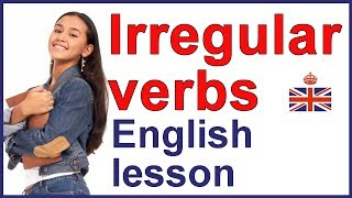 Irregular verbs in English