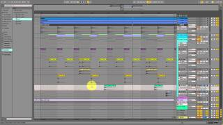 Tutorial  Producing Deep House Drum Groove in Ableton Live 9 cool drumming
