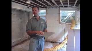 Preparing A Basement For Finishing In Syracuse | Wilcox Basement Systems Video