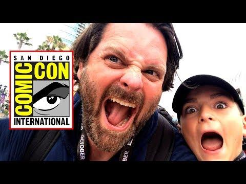 Comic Con 2019 Preview Night Floor Walkthrough!