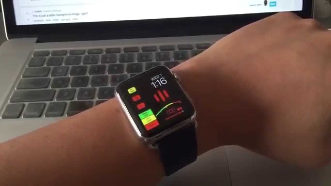 Knight Rider Apple Watch