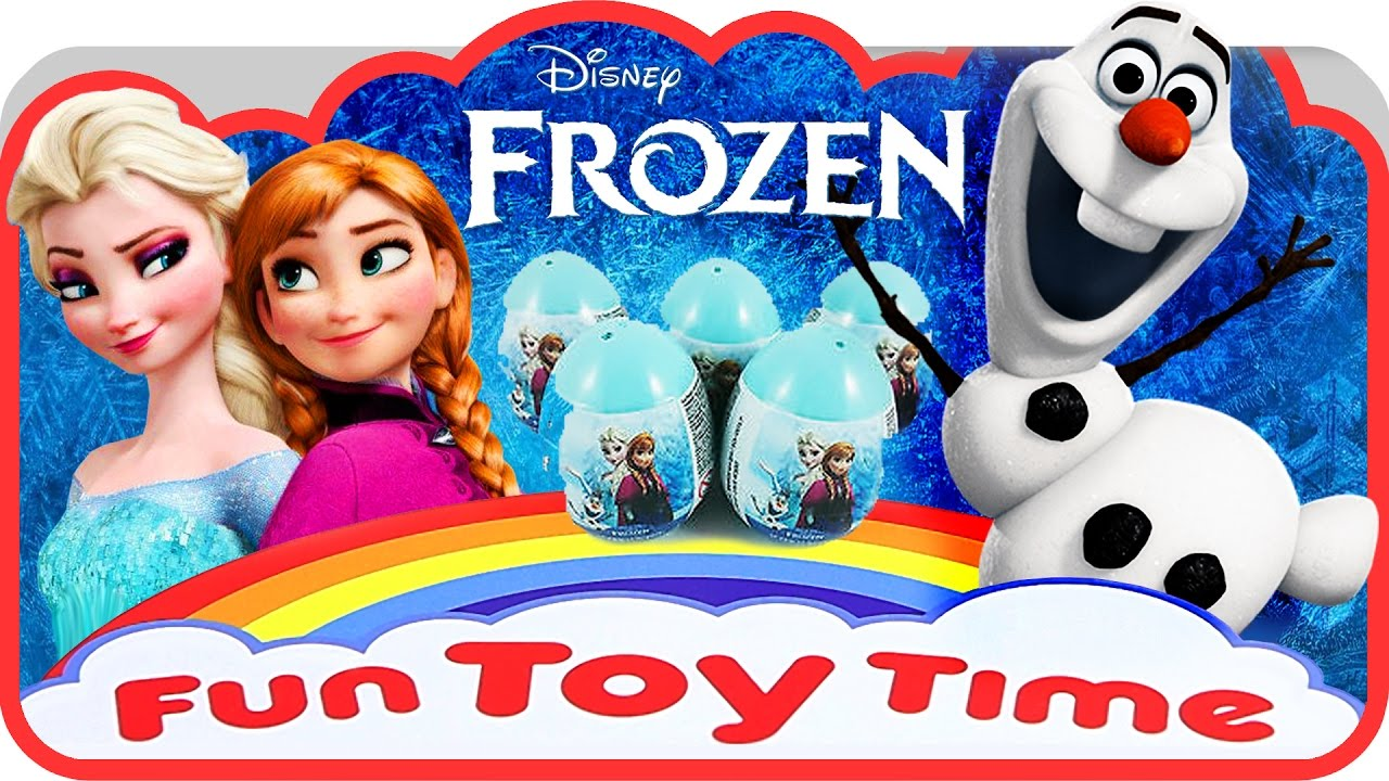 Fun Time Toys : Disney frozen movie egg surprise sweets toys princess