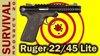 Ruger Mark IV 22/45 Lite - The Silencer Ready Pistol