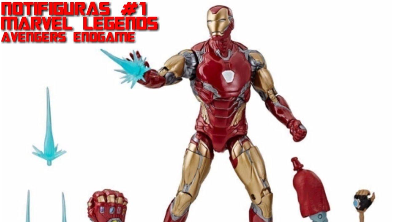 marvel legends avengers endgame iron man mark 85 figure - 1000×750