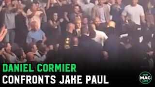 Daniel Cormier confronts Jake Paul in crowd at UFC 261